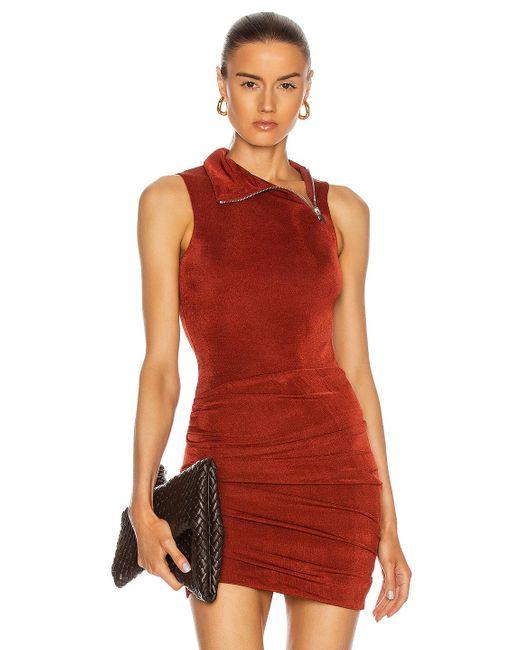 Alix NYC Red Britton Bodysuit