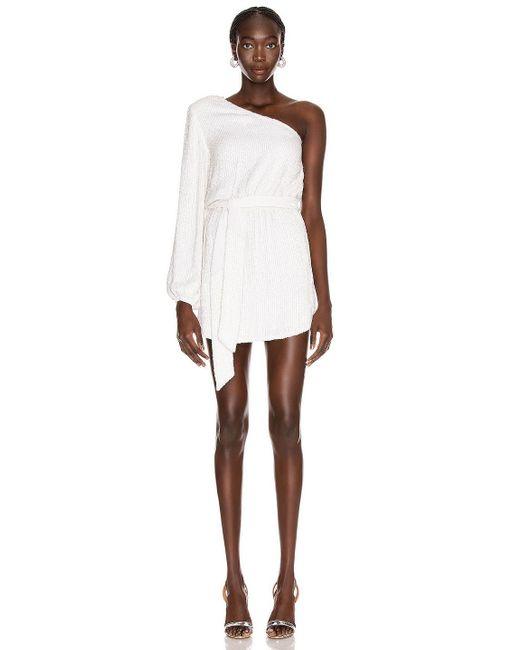 retroféte White Bridget Kleid