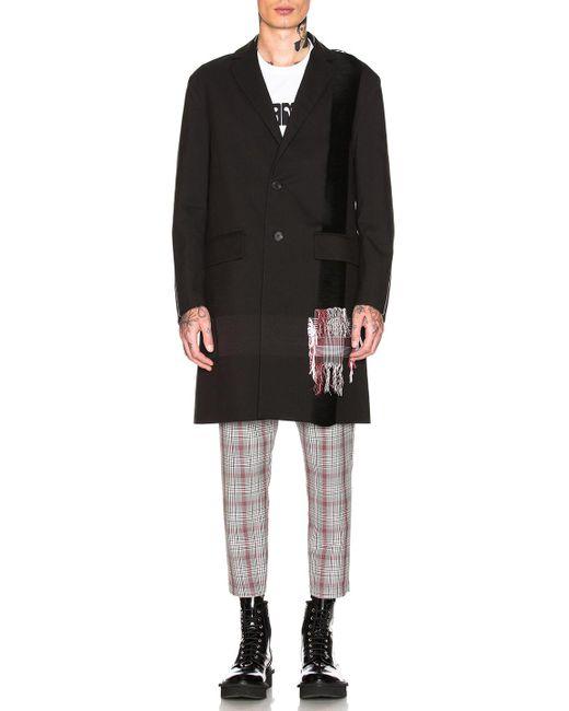 OAMC - Black Saxa Coat for Men - Lyst