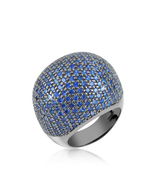 Azhar Blue Cubic Zirconia Fashion Ring