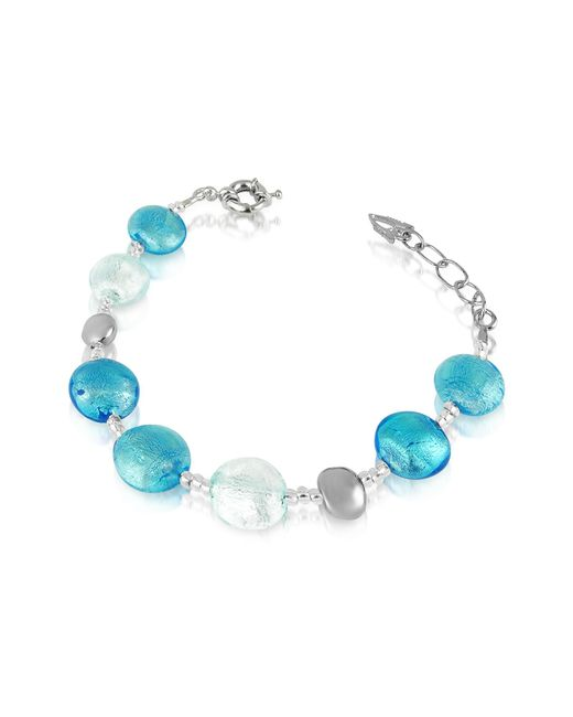 Antica Murrina - Blue Frida - Murano Glass Bead Bracelet - Lyst