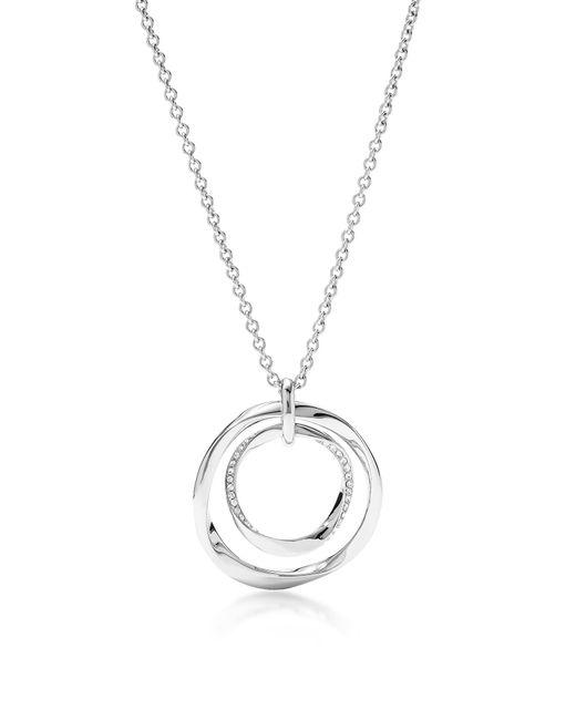 Fossil - Metallic Long Twist Pendant Women's Necklace - Lyst