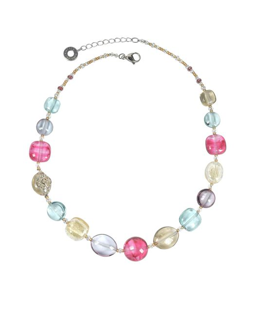 Antica Murrina - Multicolor Florinda Transparent Murano Glass Beads Necklace - Lyst