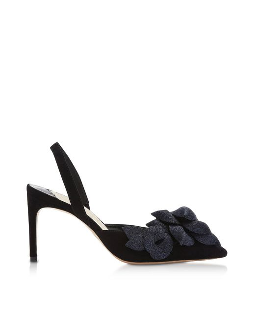 Black & Midnight Jumbo Lilico Slingback Pumps Sophia Webster