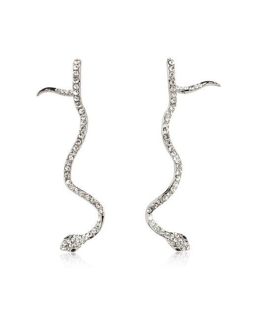 Federica Tosi snake earrings - Metallic o6g3G