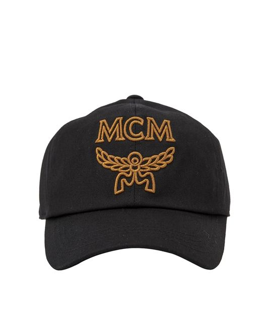 386011b5957 Lyst - MCM Signature Cotton Baseball Cap in Black for Men - Save 24%