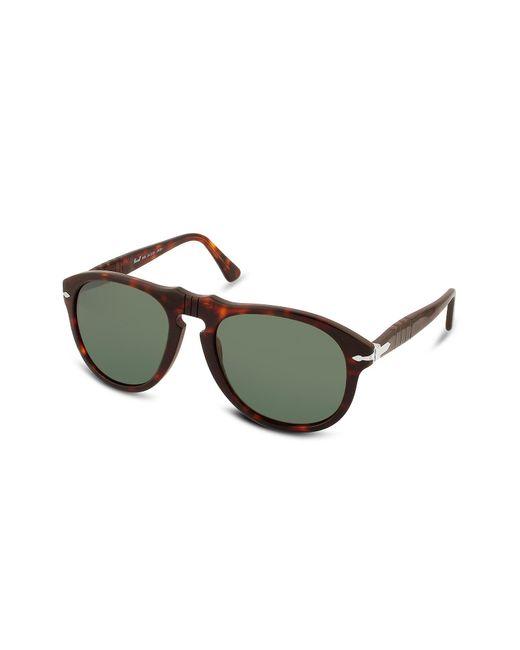 Persol - Green Arrow Signature Aviator Plastic Sunglasses for Men - Lyst
