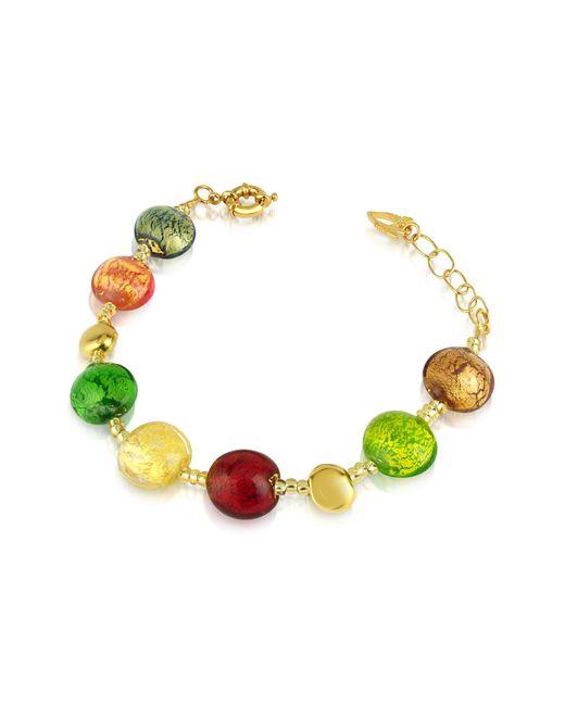 Antica Murrina - Multicolor Frida - Murano Glass Bead Bracelet - Lyst