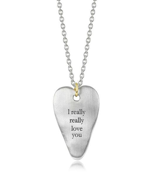 Bjorg Metallic Love You Necklace