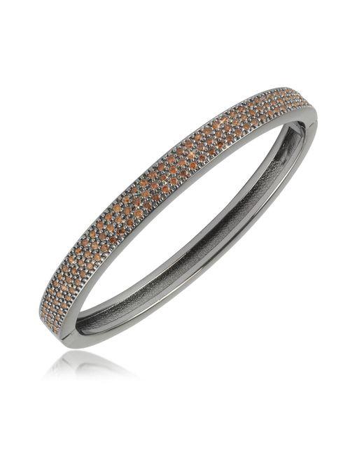 Azhar - Black Cubic Zirconia Bracelet - Lyst