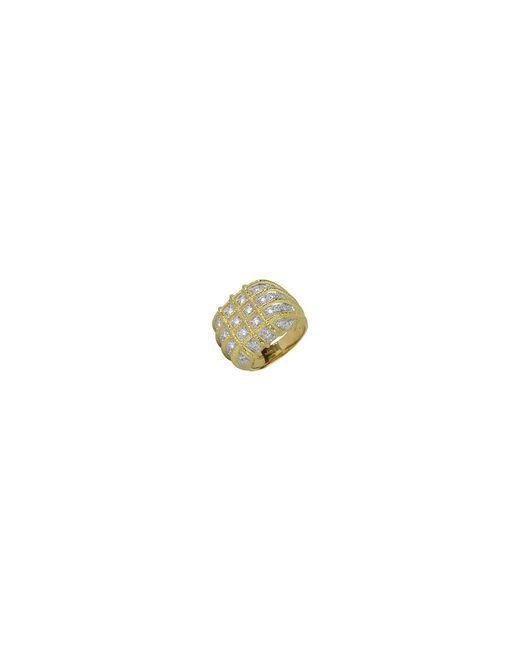 Torrini - Metallic Wallstreet - 18k Yellow Gold Diamond Ring - Lyst