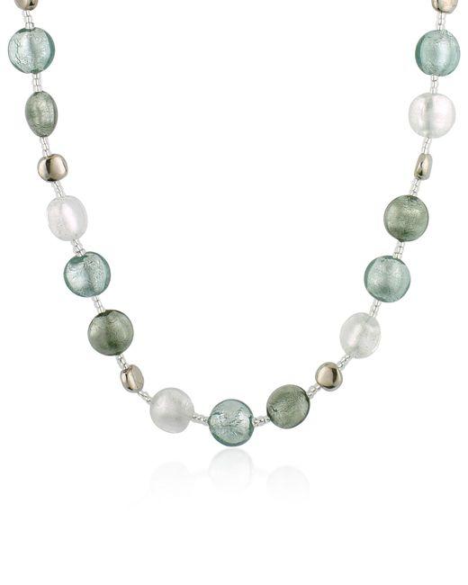 Antica Murrina - Metallic Frida - Murano Glass Bead Necklace - Lyst
