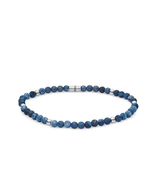 Fossil Men's Blue Semi-Precious Bracelet für Herren