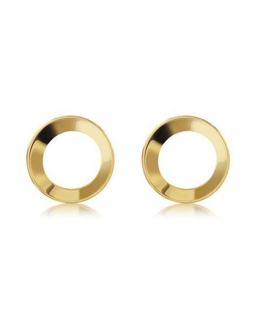 Vita Fede - Metallic Mini Cosimo Gold Tone Earrings - Lyst