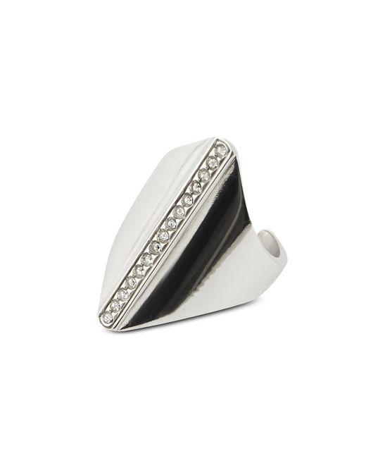 FEDERICA TOSI - Metallic Polygon Ring - Lyst