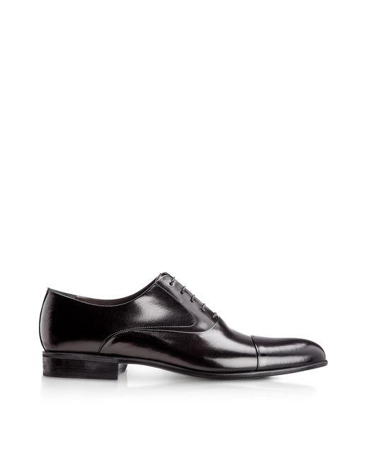 Moreschi Dublin Black Calfskin Oxford Shoes for men