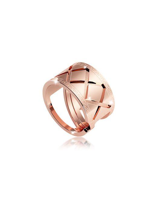 Rebecca - Pink Melrose Rose Gold Over Bronze Ring - Lyst