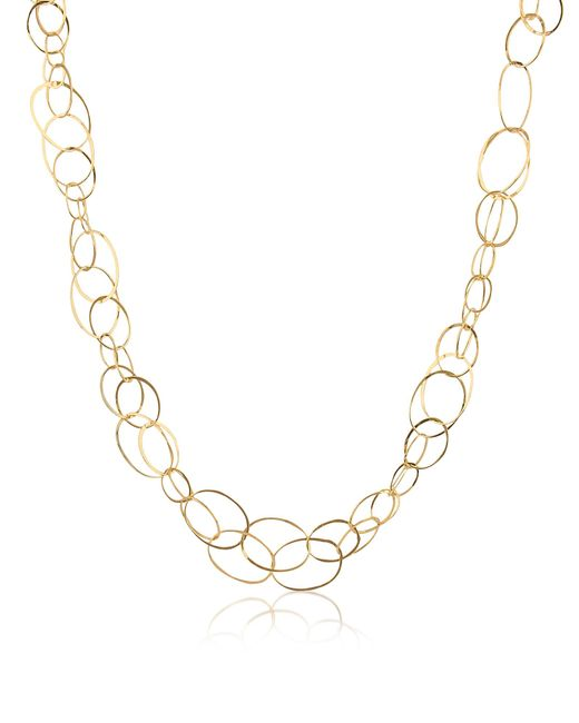 Orlando Orlandini - Metallic Scintille - 18k Yellow Gold Chain Necklace - Lyst