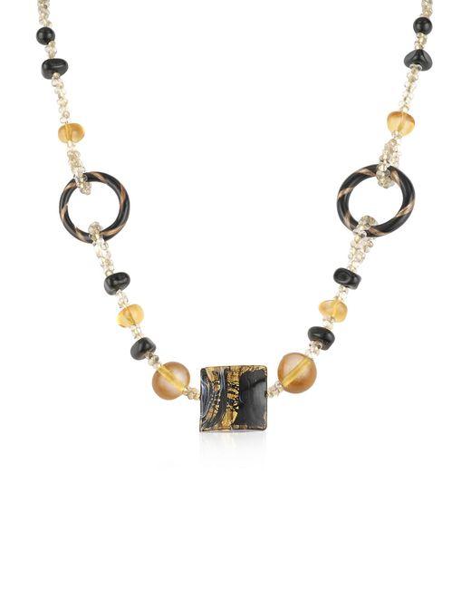 Antica Murrina | Black Bolero - Murano Glass Choker Necklace | Lyst