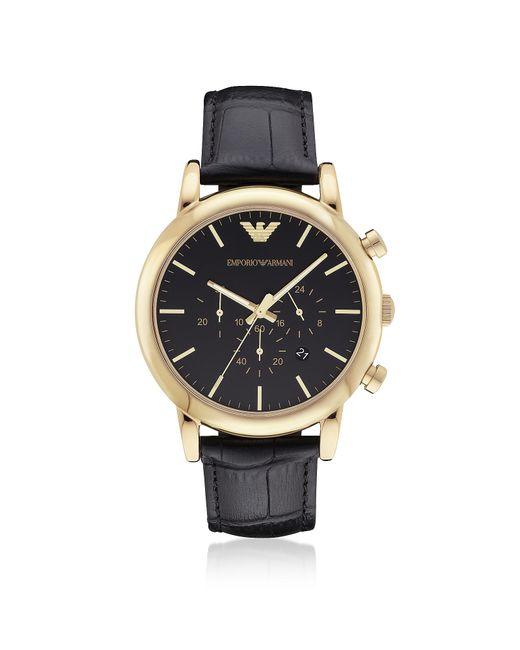 Emporio armani Goldtone Stainless Steel Men's Watch W ...