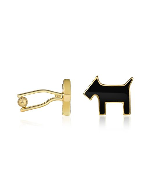 AZ Collection | Metallic Scottie Enamel Gold Plated Cuff Links for Men | Lyst