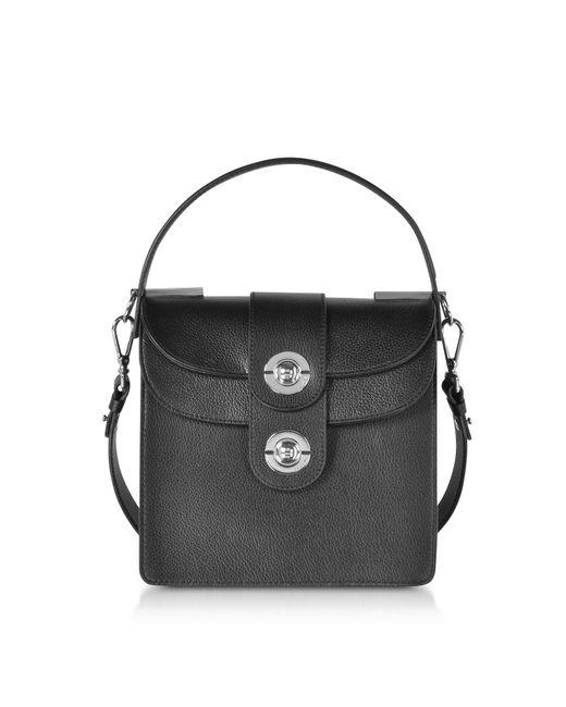 ded5ef020812 Lyst - Coccinelle Leila Leather Shoulder Bag in Black