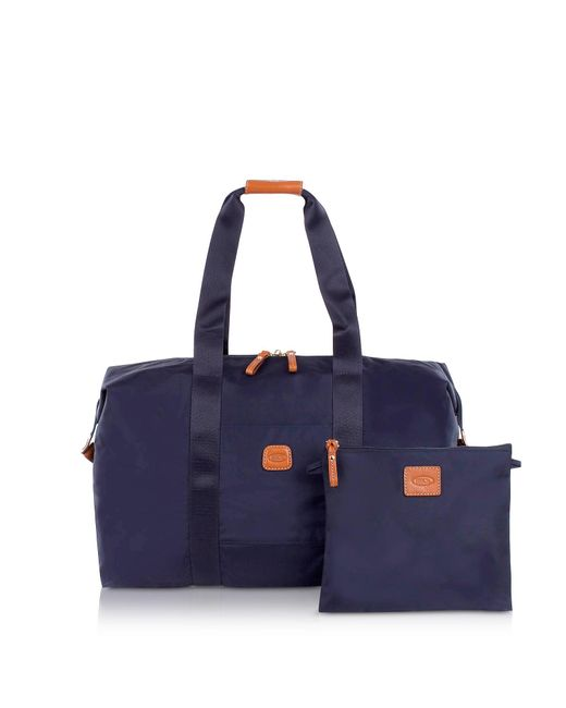 Bric's - Blue X-bag Medium Foldable Last-minute Holdall In A Pouch for Men - Lyst