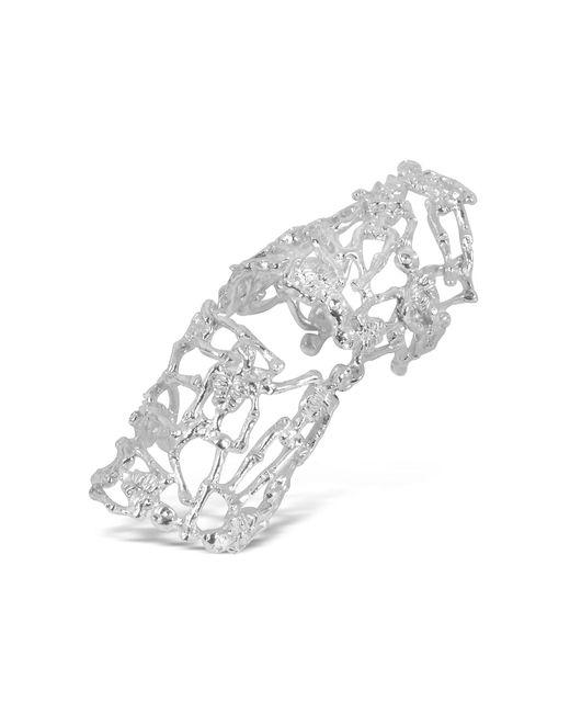 Bernard Delettrez | Metallic Skeletons Silver Metal Articulated Ring | Lyst