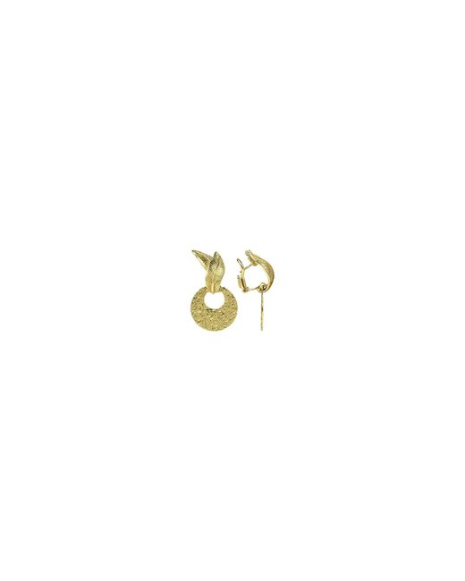 Torrini - Metallic Victoria - 18k Yellow Gold Chiselled Earrings - Lyst