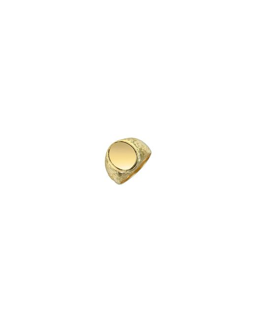 Torrini - Metallic Oval 18k Yellow Gold Men's Ring for Men - Lyst