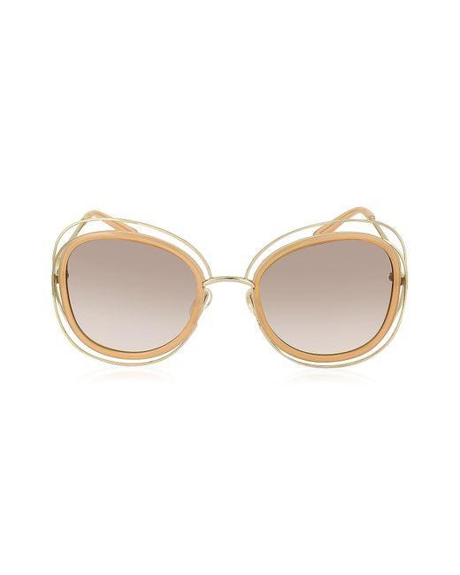 50569a85ef50 Chloe Carlina Sunglasses Pink