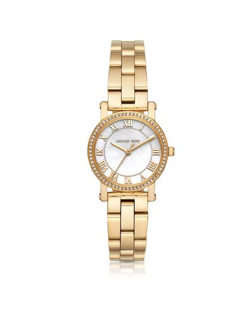d56eca38366a Lyst - Michael Kors Ladies Norie Watch Gold in Metallic - Save 54%