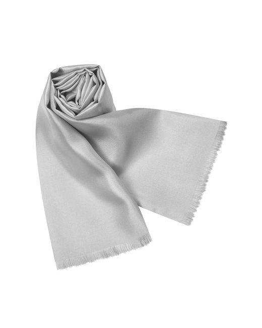 Forzieri - Metallic Echarpe en soie unie for Men - Lyst