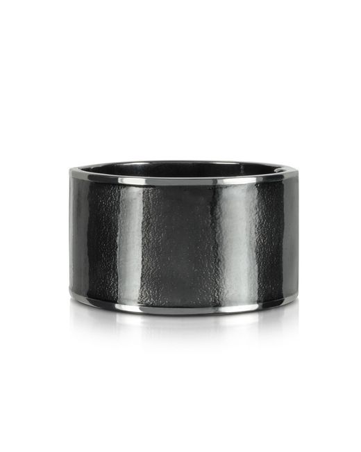 DSquared² | Gray Icon Brass And Enamel Armlet | Lyst