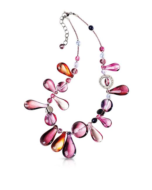 Antica Murrina - Multicolor Lapilli Murano Glass Necklace - Lyst