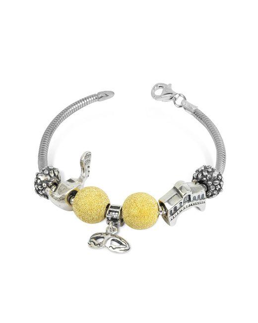Tedora | Metallic Sterling Silver Venice Bracelet | Lyst