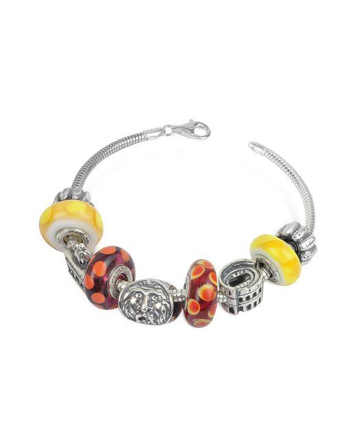 Tedora | Metallic Sterling Silver Rome Bracelet | Lyst