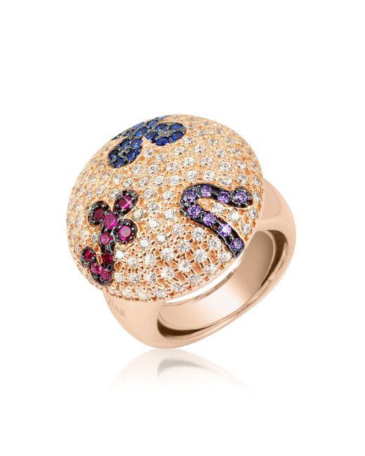 Azhar Multicolor Fashion Ring