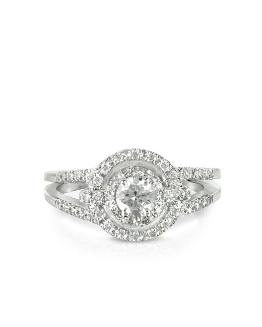 FORZIERI | 0,58 Ctw Diamond 18k White Gold Ring | Lyst