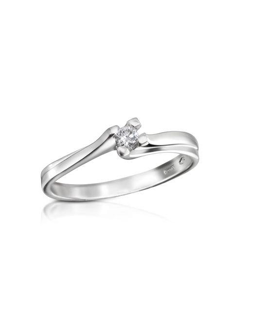 FORZIERI | White 0.08 Ctw Diamond Solitaire Ring | Lyst