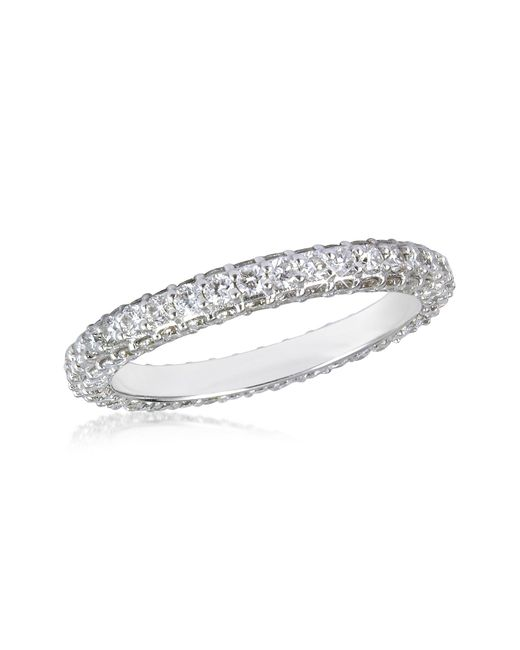 FORZIERI | 1.59 Ctw Diamond 18k White Gold Eternity Band | Lyst