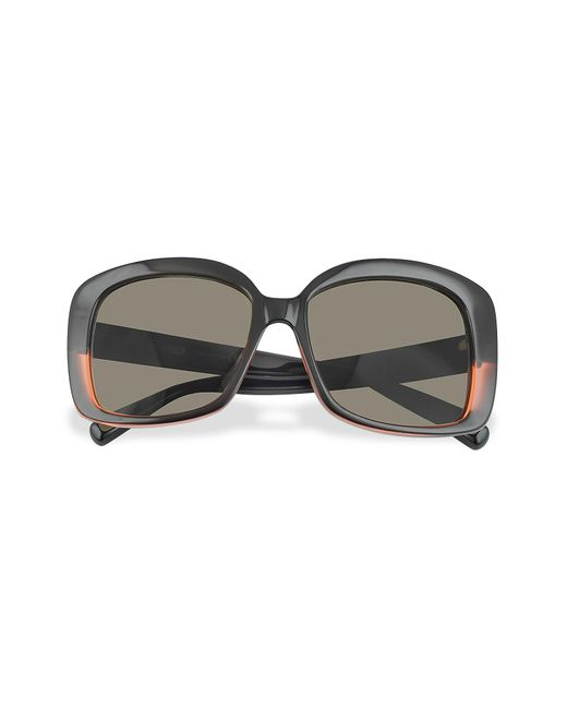 Marc Jacobs | Gray Black And Red Square Sunglasses | Lyst