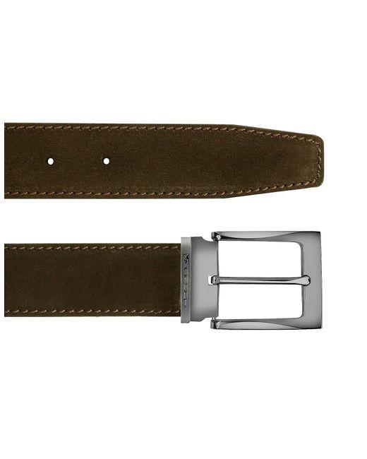 Moreschi | Dallas - Dark Brown Suede Leather Belt for Men | Lyst