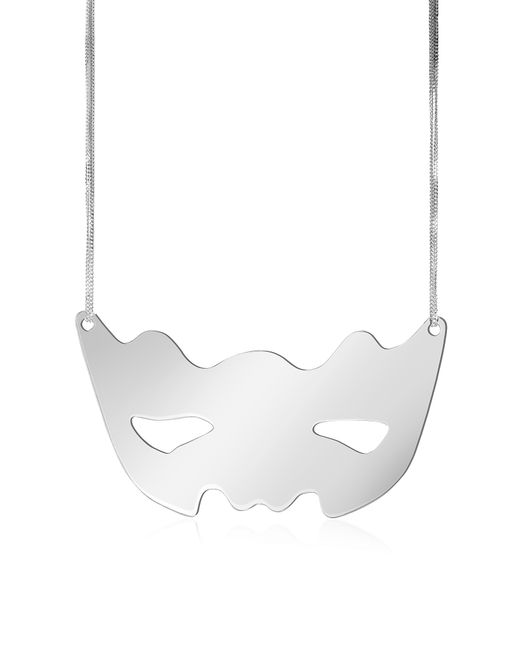 MM6 by Maison Martin Margiela | Multicolor Mirror Mask Necklace | Lyst
