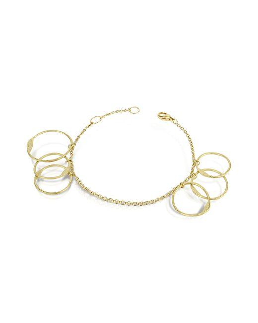 Torrini | Milly - 18k Yellow Gold Circles Chain Bracelet | Lyst