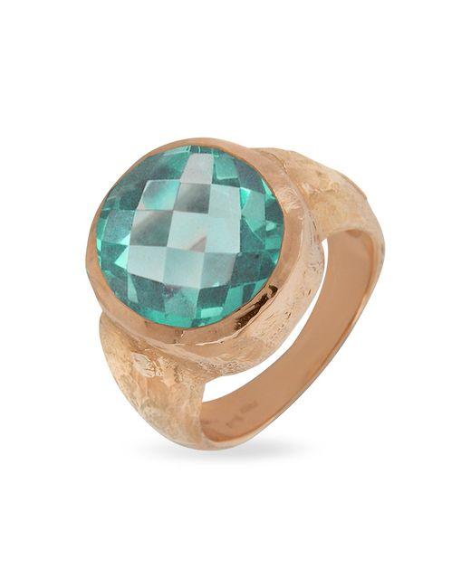 Torrini | Stefy - Green Amethyst Oval Gemstone 18k Rose Gold Ring | Lyst