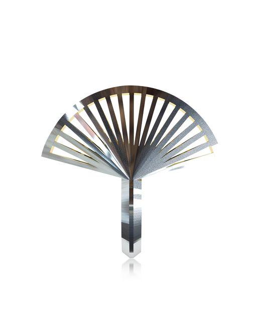 Vojd Studios | Metallic Phase Precious Fan Sterling Silver Ring | Lyst