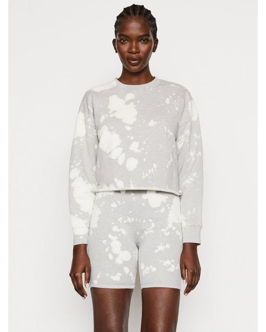 FRAME Multicolor Easy Shirttail Sweatshirt