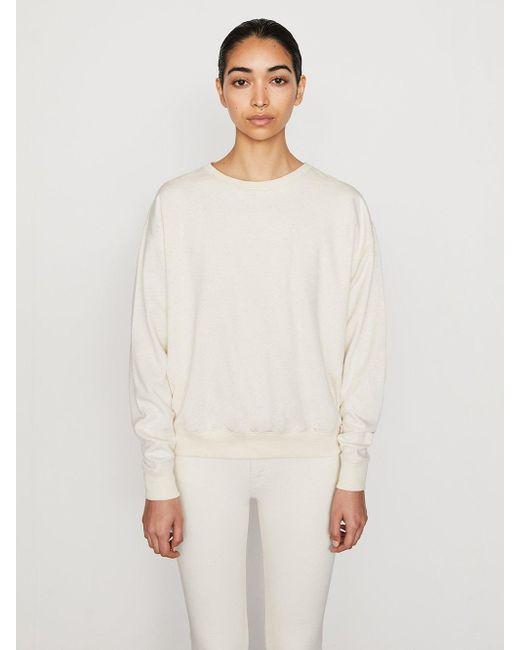 FRAME Au Natural Uni Sweatshirt