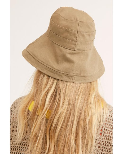 Free People - Natural Maisy Reversible Canvas Hat - Lyst
